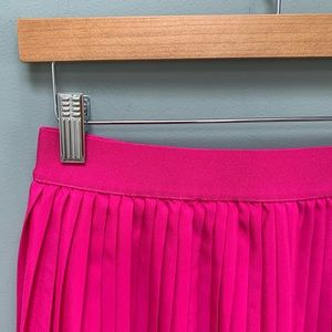 a new day Skirts - A New Day pleated pink midi skirt